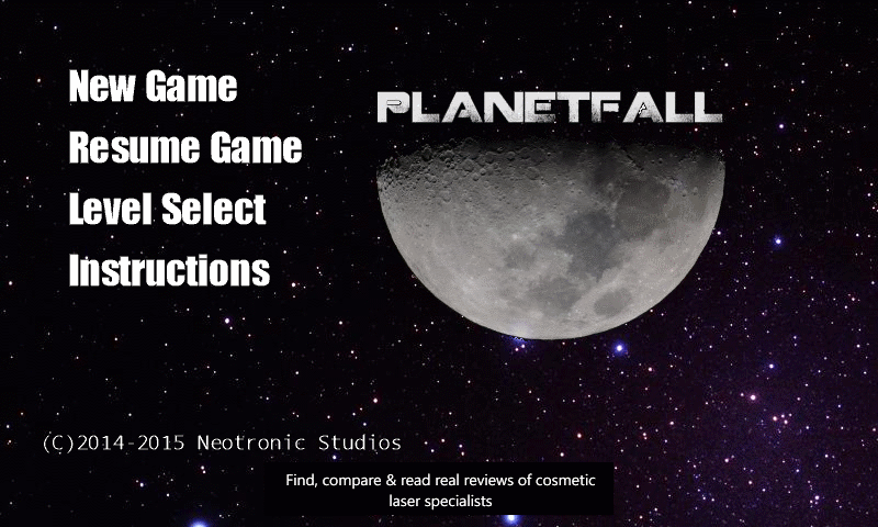 Building PlanetFall, a LunarLander-inspired game for Windows Phone 8